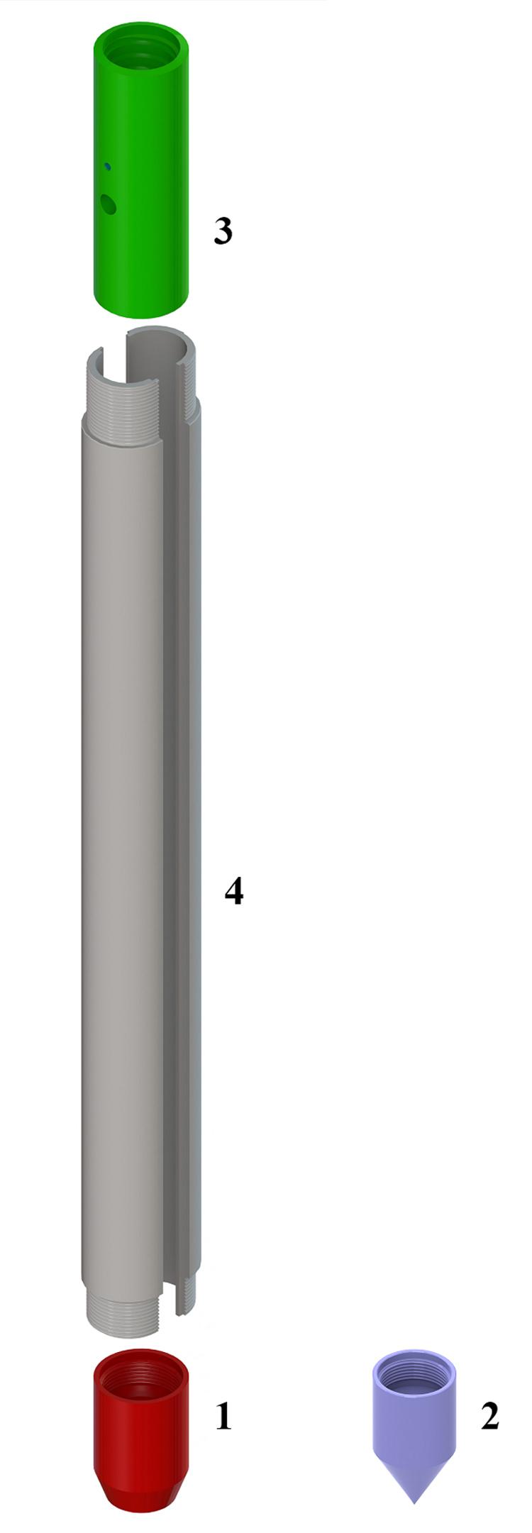 Martino SPT penetrometro dinamico coring convenzionale campionatore