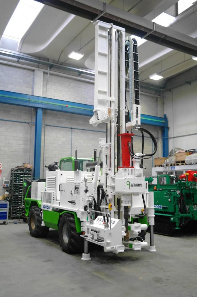 geomarc sonde pompe equipment