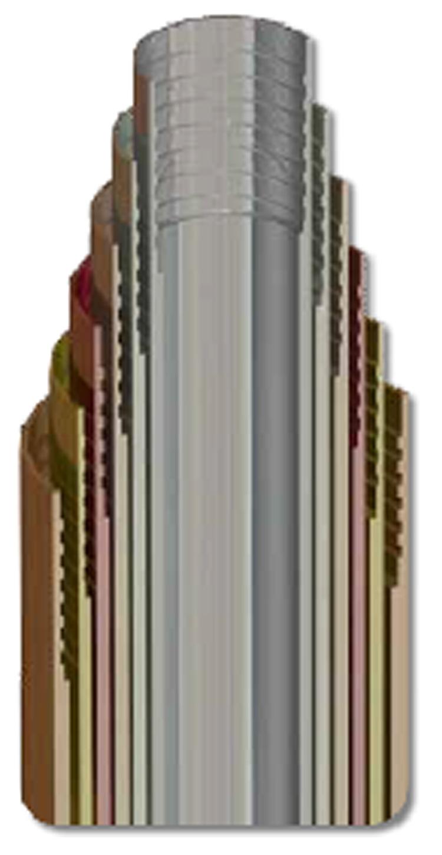 tubi di rivestimento serie standard metrica