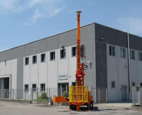 Sonda GM600C - Drill Rig GM600